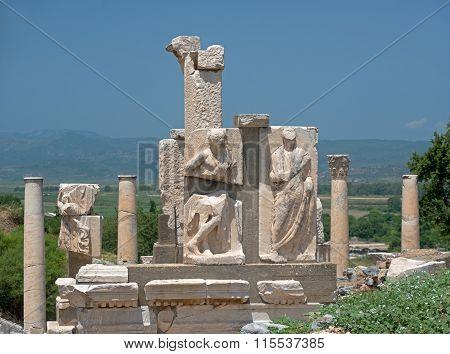 Ruins Of Beautiful Ephesus