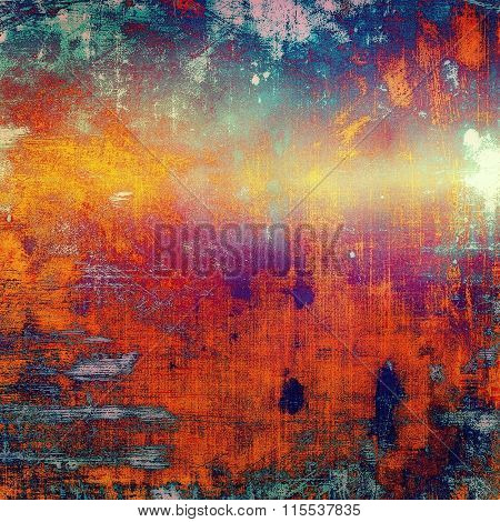Old background or texture. With different color patterns: yellow (beige); purple (violet); blue; red (orange); pink