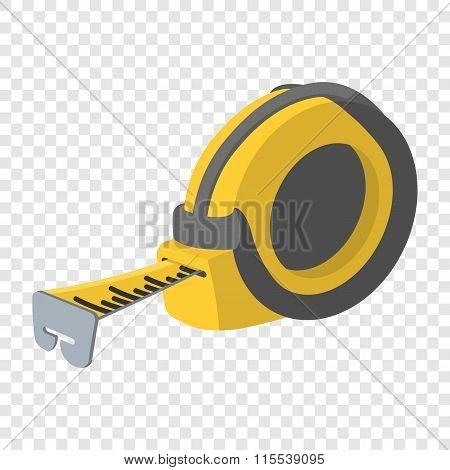Builders tape measure symbol