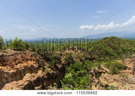 Doi Tok Grand Canyon In Mae Wang National Park, Chiangmai Thailand