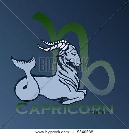 Sign Of The Zodiac - Capricorn