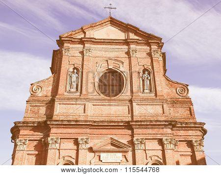 San Pietro Apostolo Church, Brusasco Vintage
