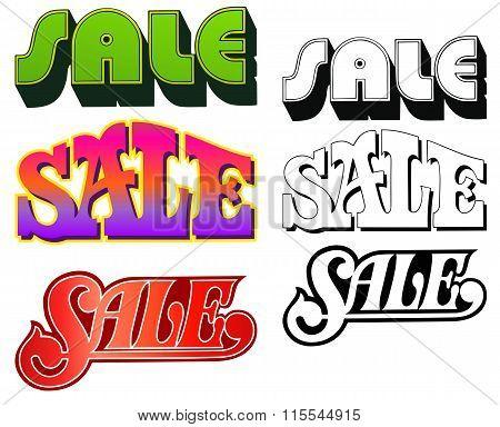 Sale Headings