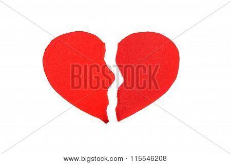Crumpled Paper Heart