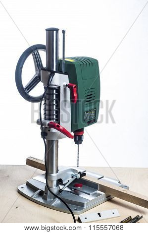 Drilling Machine And Table Tools.