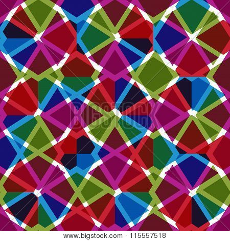 Geometric Messy Lined Seamless Pattern, Bright Transparent Vector Endless Background. Decorative