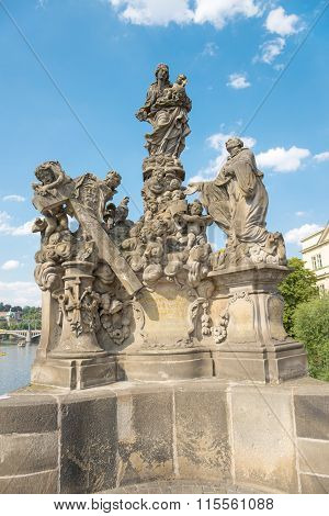 Sculptural Group in Prague