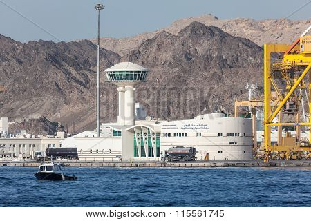 Cruise Terminal In Muscat, Oman