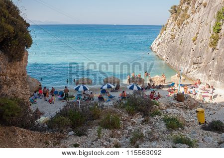 Xigia Beach With A Sulfur And Collagen Spring