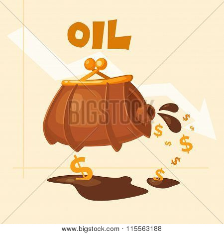 The Image Of The Barrel Of Oil
