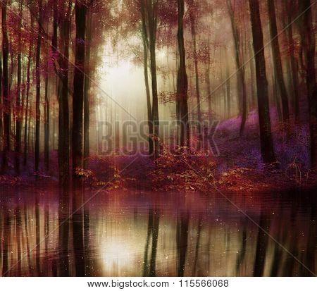 Fantasy Autumn Forest