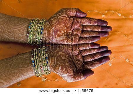 Henna Closeup
