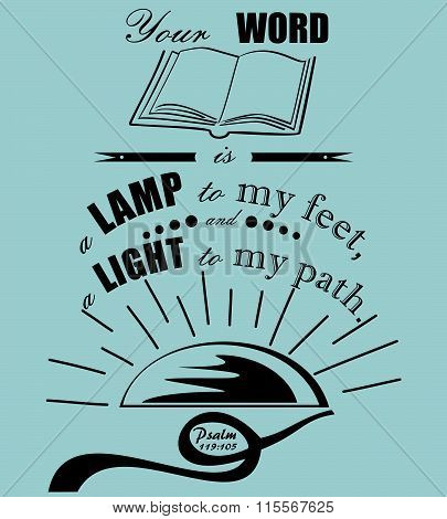 Bible verse Psalm 119