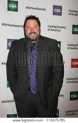 LOS ANGELES - JAN 21:  Greg Grunberg at the 31st Annual Artios Awards at the Beverly Hilton Hotel on January 21, 2016 in Beverly Hills, CA