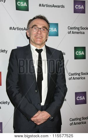 LOS ANGELES - JAN 21:  Danny Boyle at the 31st Annual Artios Awards at the Beverly Hilton Hotel on January 21, 2016 in Beverly Hills, CA