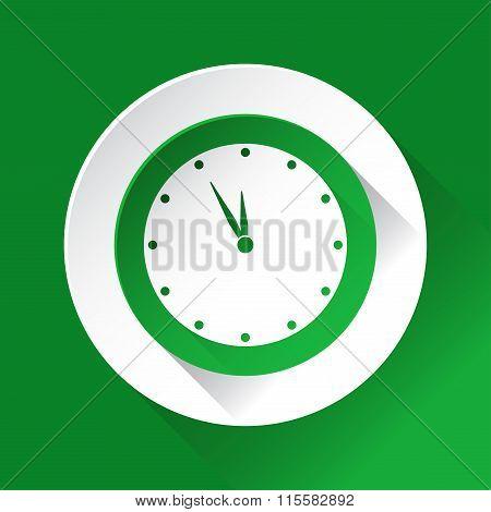 Green Circle Shiny Icon, Last Minute Clock