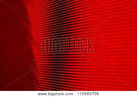 Smd Bright Red Led Screen