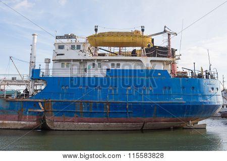 Feed Vessel Volgoneft 128
