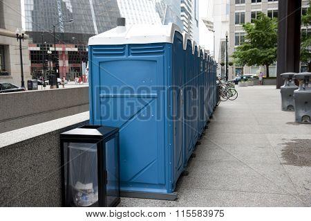 Public Restroom on Street