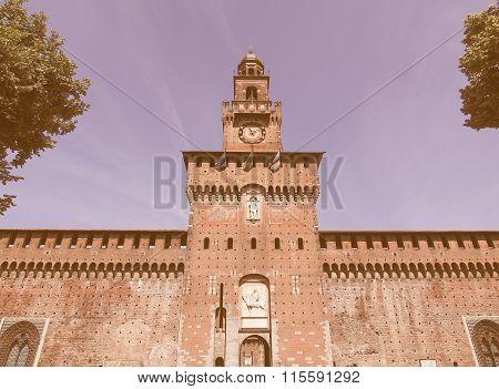 Castello Sforzesco, Milan Vintage