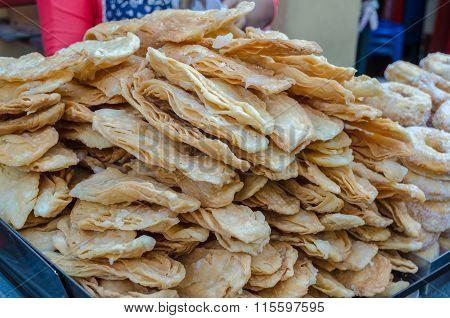 Sweet Crispy Southern Flat Bread