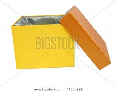 Yellow Open Box