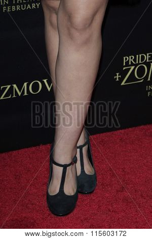 LOS ANGELES - JAN 21:  Yvette Yates at the Pride And Prejudice And Zombies Premiere at the Harmony Gold Theatre on January 21, 2016 in Los Angeles, CA
