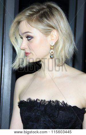 LOS ANGELES - JAN 21:  Bella Heathcote at the Pride And Prejudice And Zombies Premiere at the Harmony Gold Theatre on January 21, 2016 in Los Angeles, CA