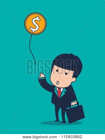 Businessman Balloon