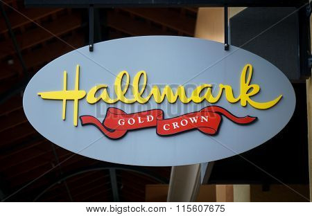Hallmark Retail Gift And Card Shop Exterior