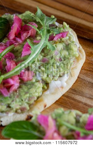 Avocado And Fermented Vegetable Spread