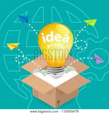 Innovation Idea Think Outside The Box
