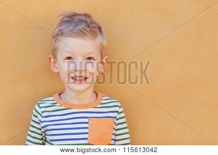 Portrait Of Adorable Kid