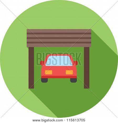 Car in Garage