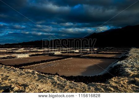 Salt Flats in the Canry islands