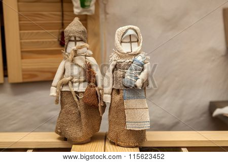 Motanki Doll Fabric Guardian For The Family, The Old Tradition