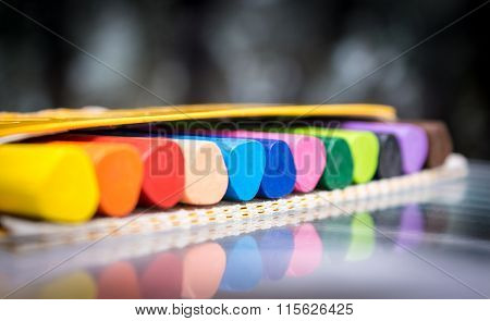 pencils crayons vax set