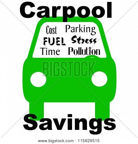 carpool savings