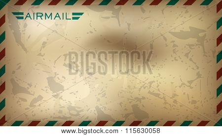 Postal background. Vector illustration.
