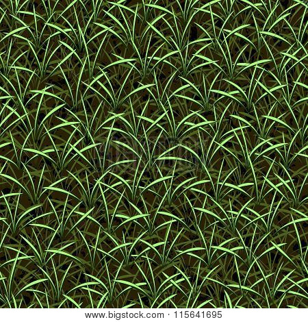 grass seamless vector background