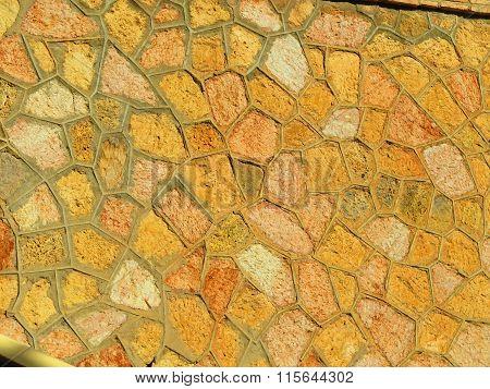 Stone Clad Wall