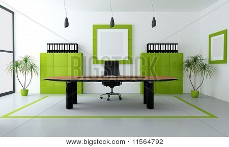 Green Modern Office