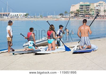 Paddle Surf School