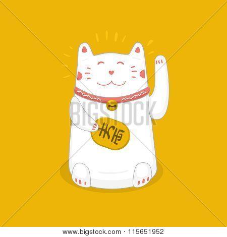 maneki neko  japan cat