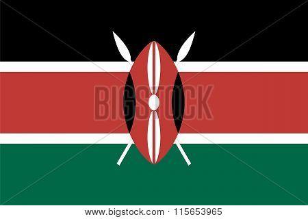 Standard Proportions For Kenya Flag
