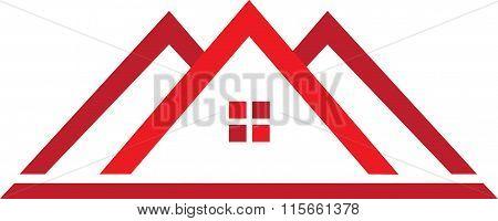 Professional Real Estate Logo House