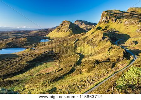 Quiraing view, Scotland