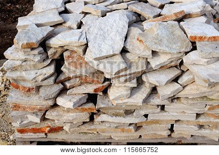stone for wall cladding