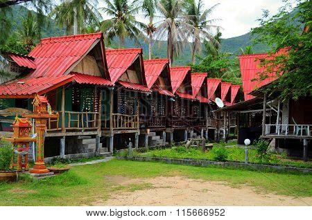 Bungalows in Koh Phangan, Thailand