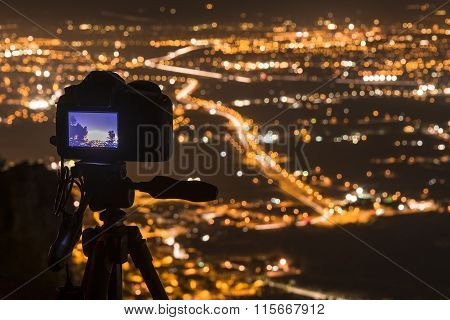 Photographing Murcia At Night II